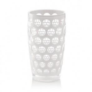 Mario Luca Giusti Lente Highball Glass, White