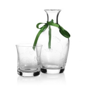 Wisteria Carafe and Tumbler